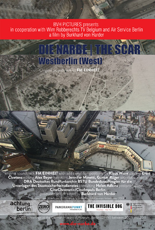 DIE NARBE | THE SCAR - PART I: WESTBERLIN (WEST) - Poster Cover